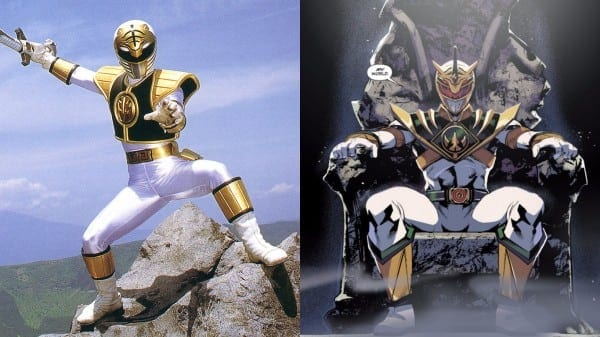 Power Rangers' Just Dropped A White Ranger Nuclear Bomb