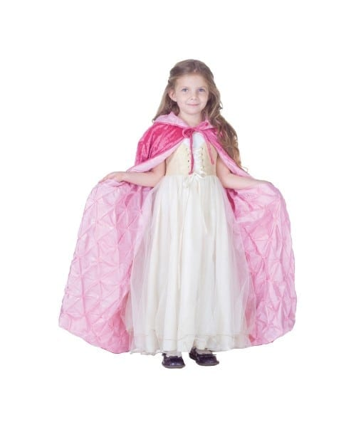 Pink Cape Girl Vampire Halloween Cape