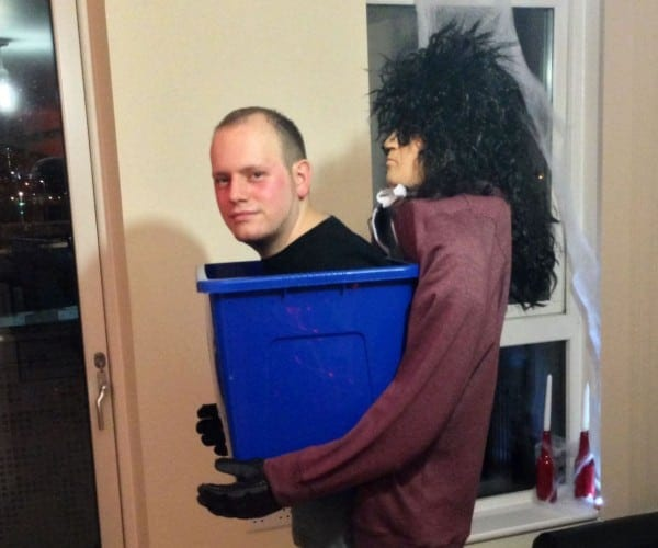 Man In A Box Halloween Costume  6 Steps (with Pictures), Big Head