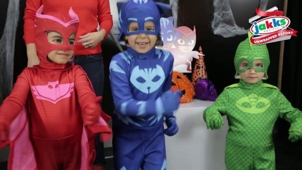 Jakks Unwrapped Featuring Pj Masks Halloween Costumes