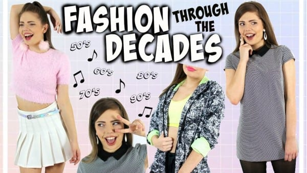 Fashion Trends Through The Decades