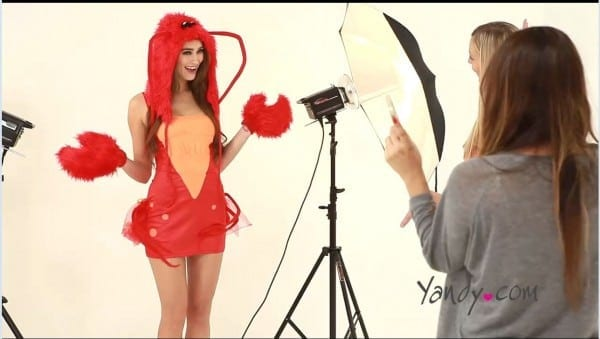 2014 Sexy Halloween Costumes From Yandy Com, Behind The Scenes