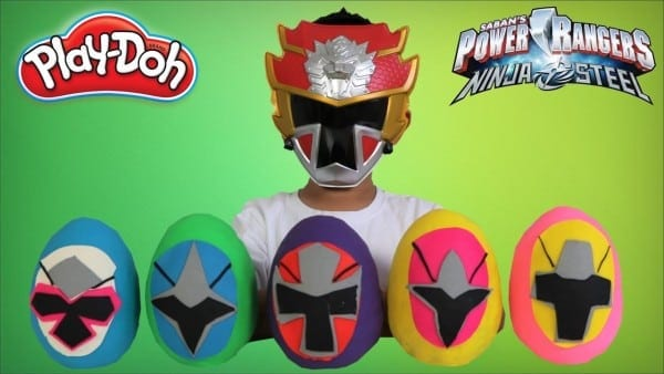 Power Rangers Ninja Steel Play