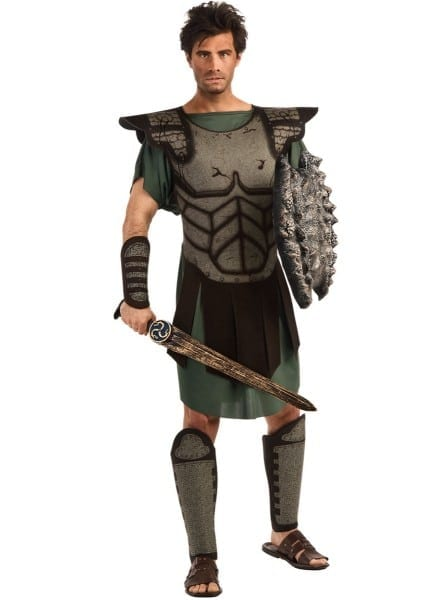 Mens Perseus Clash Of The Titans Costume  Fast Delivery