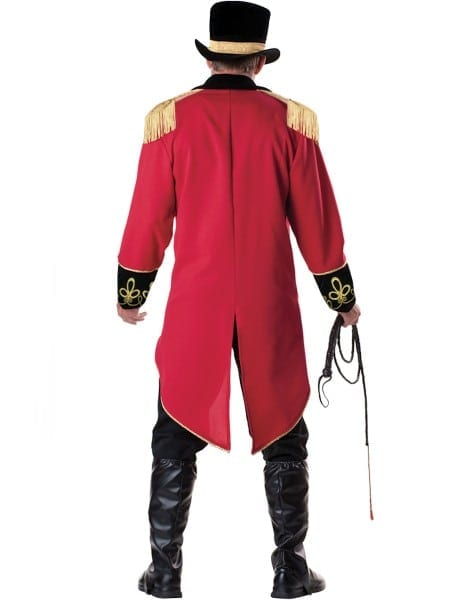 Deluxe Mens Ringmaster Costume Express Delivery Australia