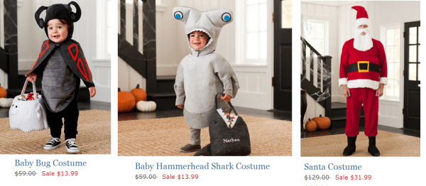 Pottery Barn Kids  Costume Clearance + Free Shipping (& Possible