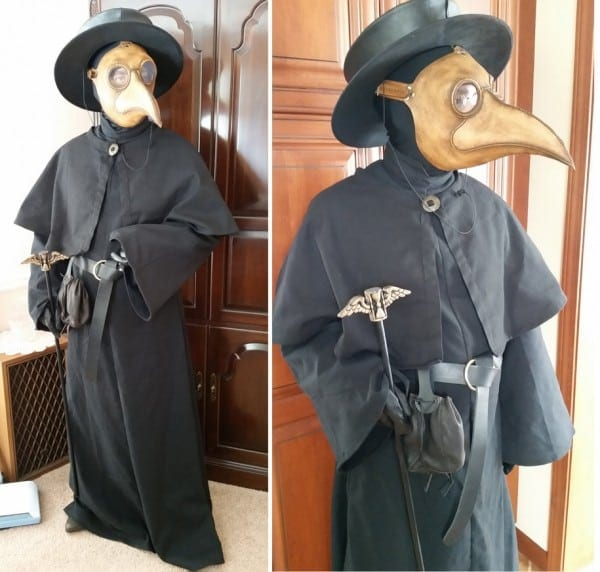 Plague Doctor Costume By Azadeth On Deviantart