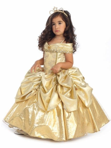 Princess Bell Deluxe Costume
