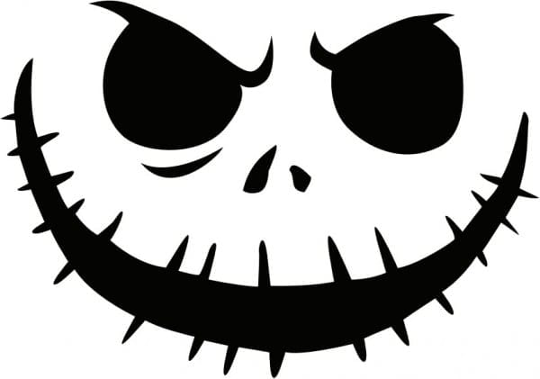 Printable Pumpkin Carving Patterns Jack Skellington Pumpkin