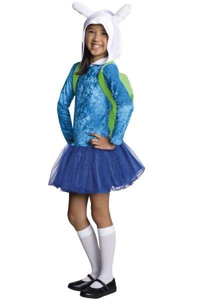 Fionna Hoodie Dress Child Costume