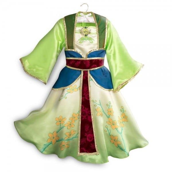 Disney Authentic Princess Mulan Costume Dress Up Girls Size 3 4 5