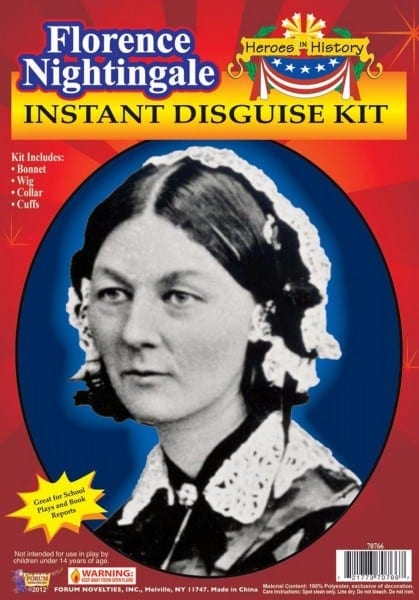 Florence Nightingale Instant Costume Disguise Kit Adult One Size