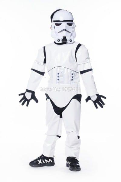 Star Wars Clone Trooper White Soldiers Storm Commando Pajamas