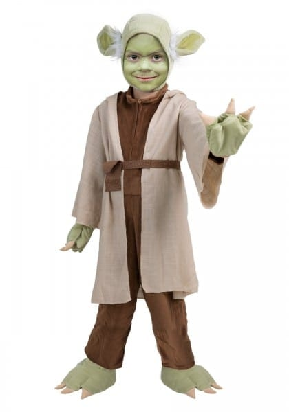 Yoda Halloween Costume Kids