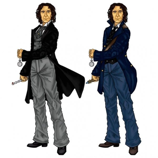 The 8th Doctors Costumes By Cosmicthunder On Deviantart