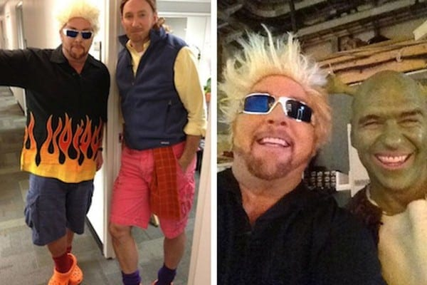 Here's Mario Batali Dressed As Guy Fieri For Halloween