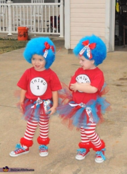 Thing 1 And Thing 2 Halloween Costumes For Kids ✓ Halloween Costumes