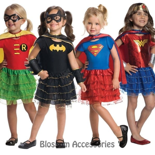 Super Hero Tutu Dress Toddler Costume