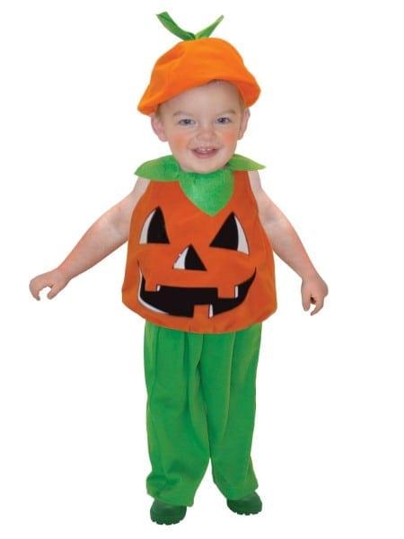 Toddlers Pumpkin Costume