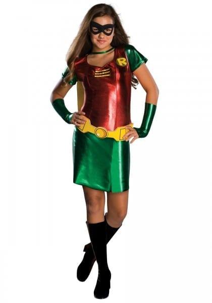 Tween Girls Robin Costume