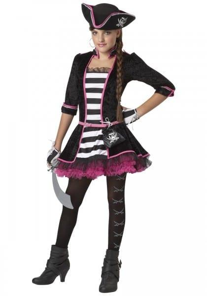 Teenage Girl Pirate Halloween Costumes