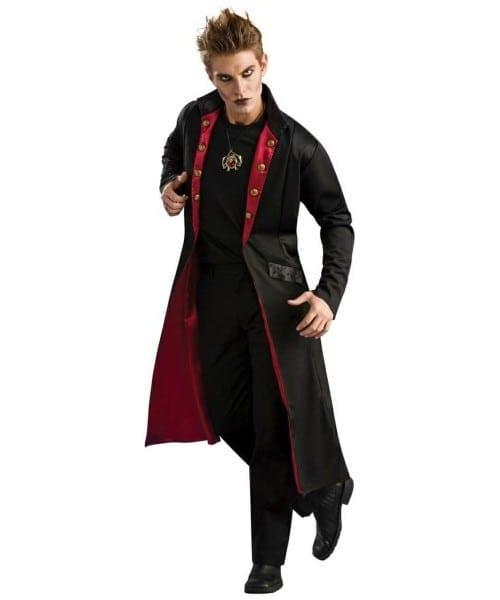 Adult Vampire Coat Halloween Costume