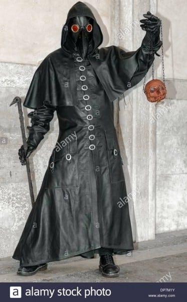 Plague Doctor Costume Stock Photos & Plague Doctor Costume Stock