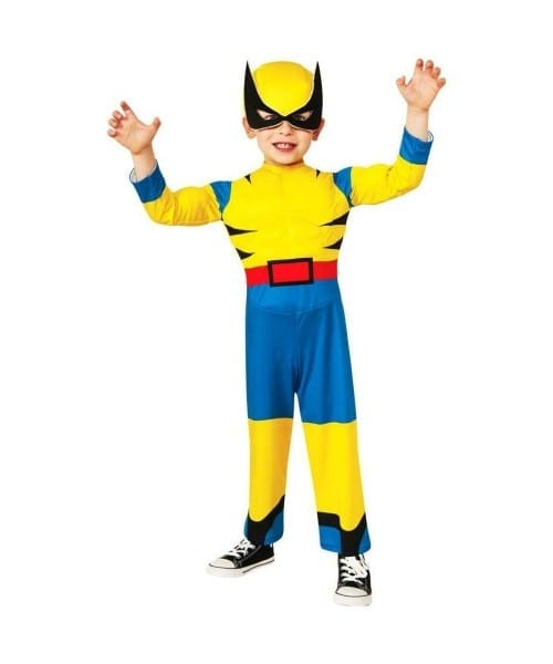 Little Wolverine Toddler Muscle Costume
