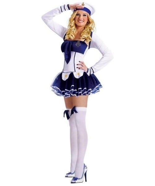 Sailor Marine Hottie Adult Costume