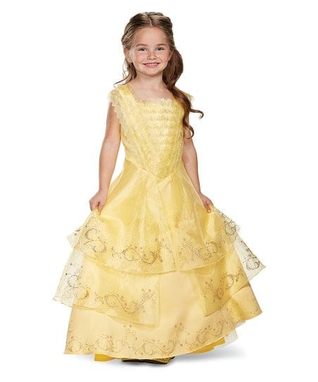Disguise Disney Princess Belle Deluxe Dress