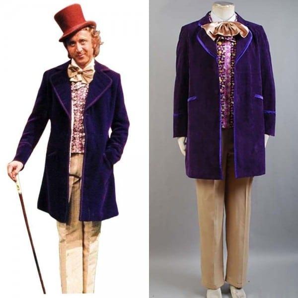 Willy Wonka And The Chocolate Factory Gene Wilder Cosplay Costume