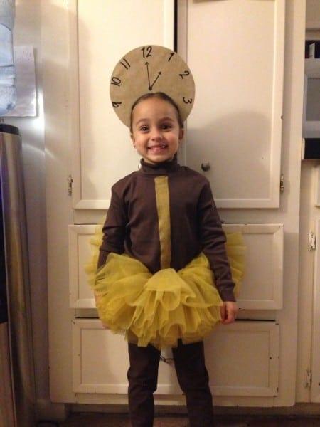 Grandfather Clock Costume; Hickory Dickory Dock; Nursery Rhyme