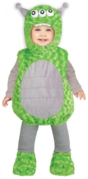 Costume Zoo  Lil Alien Infant Green Toy Story Plush Costume