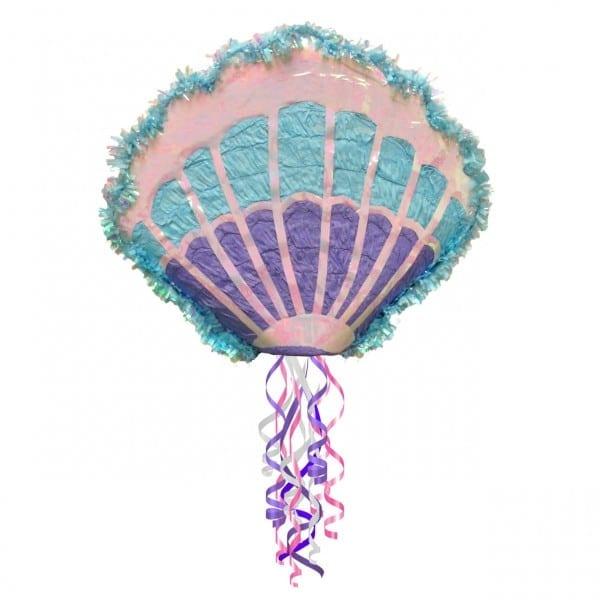 Costume Supercenter  Mermaid Sea Shell Pull String Pinata
