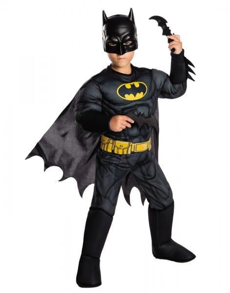 Costume Zoo  Dc Comics Boys Deluxe Muscle Chest Batman Costume