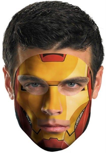 Iron Man 2 Face Tattoo