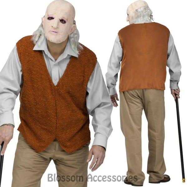 Ca62 Bad Grandpa Grumpy Old Man Knoxville Jackass Halloween