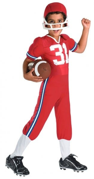 Football Player Halloween Costume For Kids ✓ Halloween