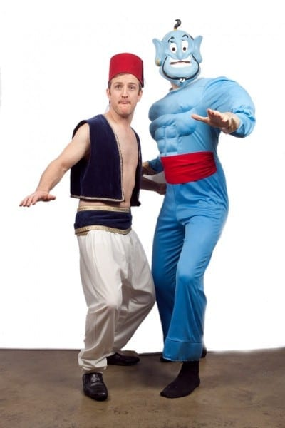 Aladdin And Genie Costumes