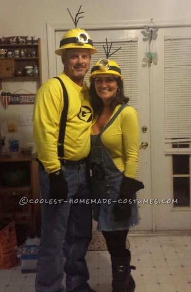Mellow Yellow Adult Minion Couples Costume