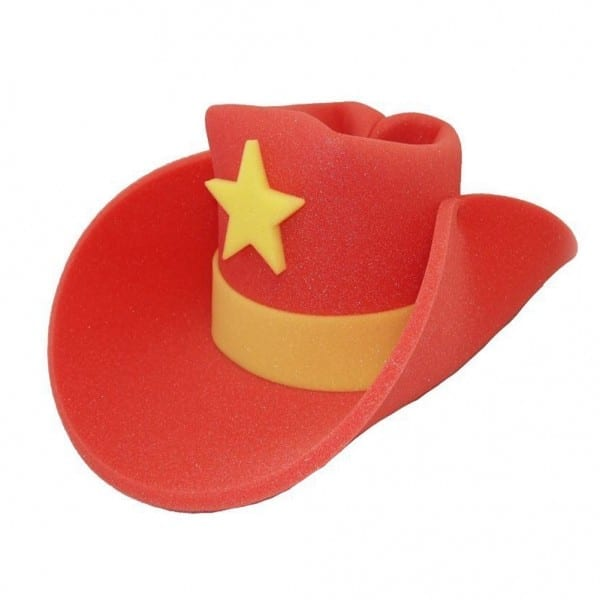 30 Gallon Foam Cowboy Costume Hat Pick Color 10 20 Giant Big Huge