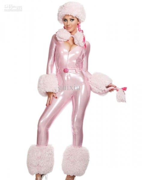 Cosplay Animal Sexy Costumes For Women Adult Sexy Pink Poodle