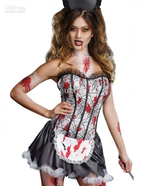 Wholesale Sexy Women's Halloween Costume Cosplay Halloween Zombie
