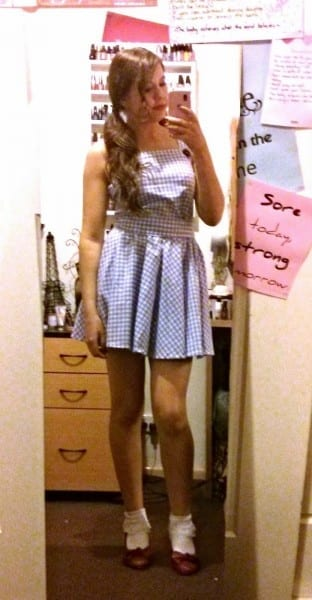 Besweetxo  Dorothy (wizard Of Oz) Diy Costume