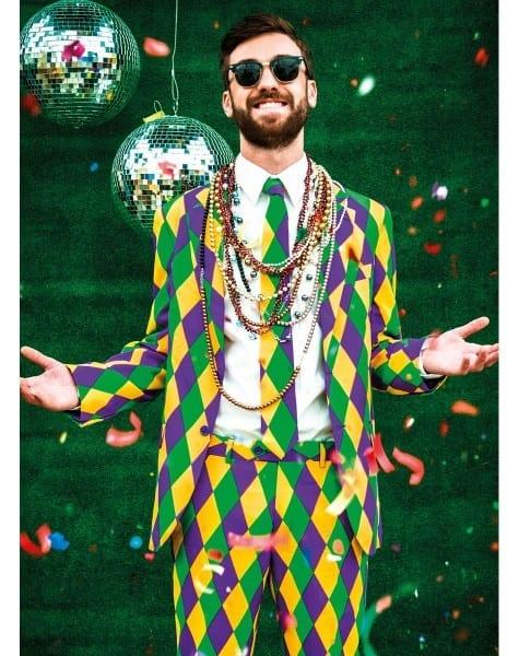 Mardi Gras Mens Party Suit At Www Spirithalloween Com