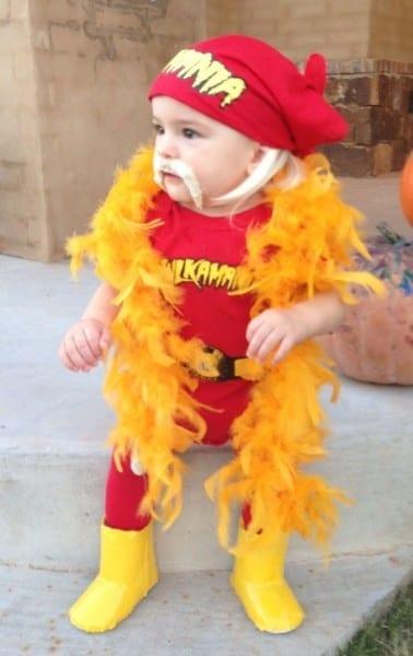 Hulkamaniac Baby  Hulk Hogan Costume