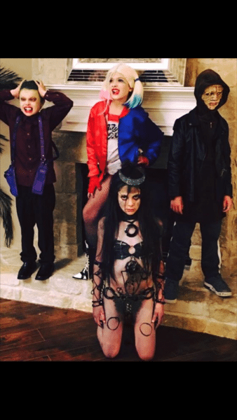 Diy Suicide Squad Theme Costumes For Kids The Joker, Harley
