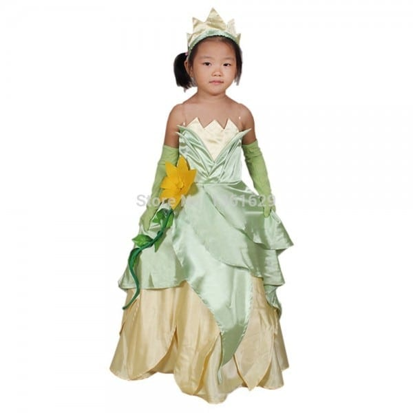 2015 Hot Selling Halloween Costume Cosplay Princess Tiana Adult