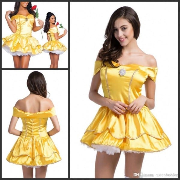 2016 Play Role Dresses Snow White Cosplay Costumes Halloween