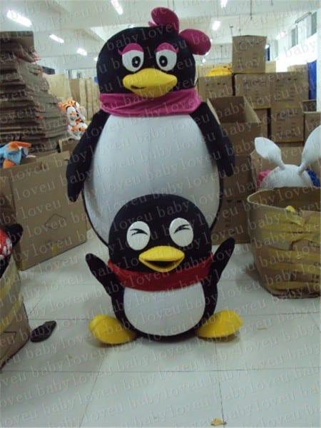 2017 Hot Sale! New Penguin Costume Mascot Cosplay Anime Custom